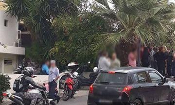 Άγριο έγκλημα στο Ηράκλειο - Έσφαξε την κουνιάδα του στη μέση του δρόμου (Photo)