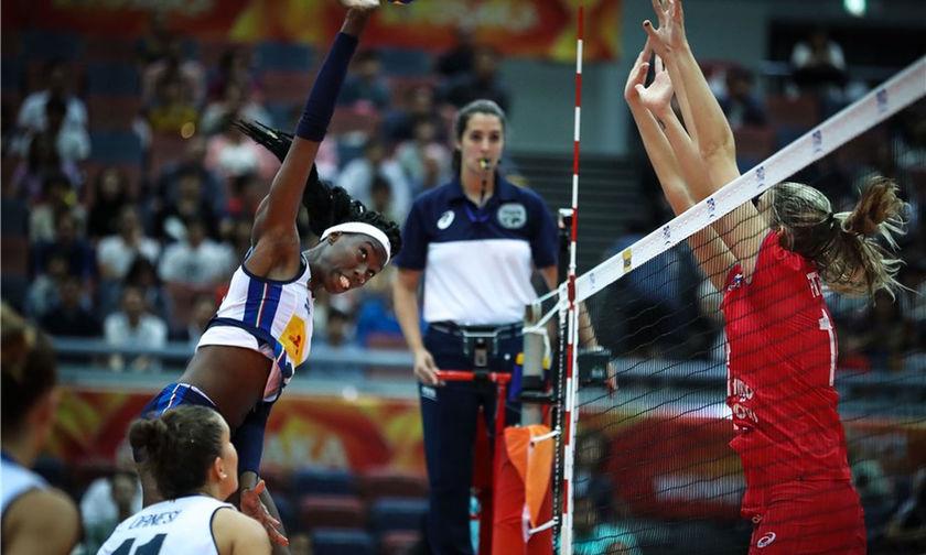 Παγκόσμιο Πρωτάθλημα Βόλεϊ: Μετά τη Σερβία, πρόκριση και για Κίνα, Ιταλία