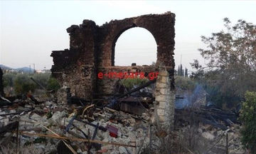 Κρήτη: Έκρηξη ισοπέδωσε εγκατάσταση με ρακοκάζανο στη Μεσαρά (pics)