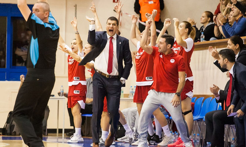 Βίσλα Κρακοβίας - Ολυμπιακός 46-47: Κοριτσάρες για φίλημα, πέρασαν στη Euroleague!