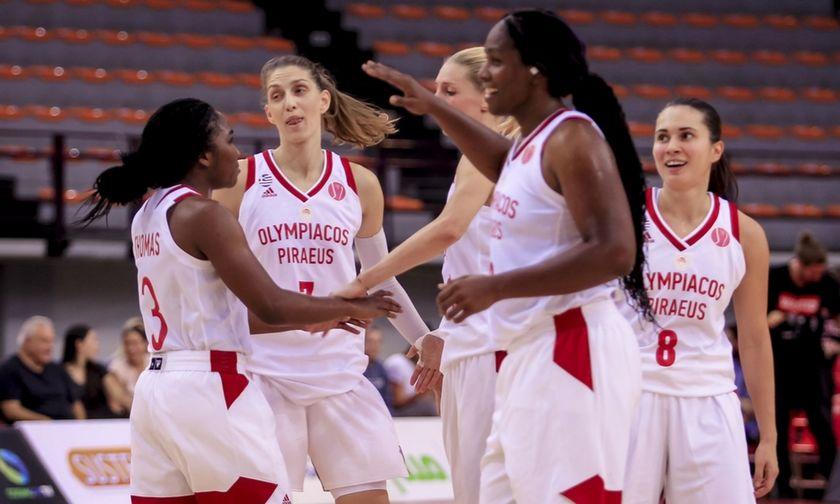 Το πρόγραμμα του Ολυμπιακού στη Euroleague Γυναικών