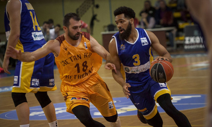 Ρέθυμνο - Λαύριο 72-77: Πρώτη νίκη για τους παίκτες του Σερέλη