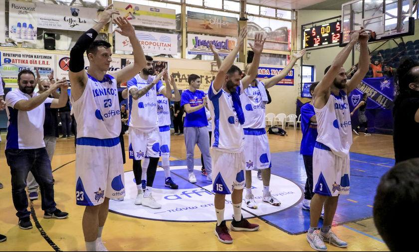 Α2 μπάσκετ: Συνεχίζουν αήττητοι Ιωνικός και Διαγόρας Δρυοπιδέων (όλα τα αποτελέσματα)