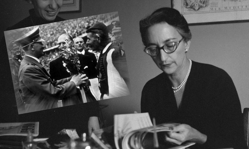 Όταν η Ελένη Βλάχου έγραφε για τους Ολυμπιακούς Αγώνες του Χίτλερ και γοητευόταν από τον Γκέμπελς