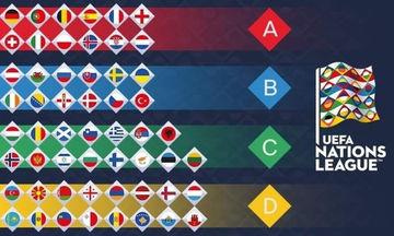 Nations League: Το πρόγραμμα της Κυριακής 14/10