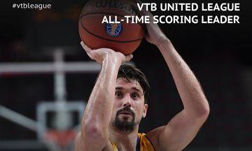 O Σβεντ έγινε ο πρώτος σκόρερ στην ιστορία της VTB League