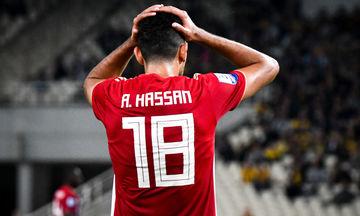 Εκτός ενδεκάδας ο Χασάν στην Αίγυπτο