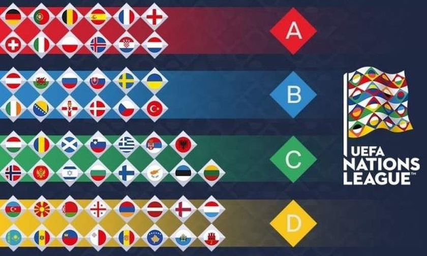Nations League: Τα αποτελέσματα της Τρίτης (16/10)