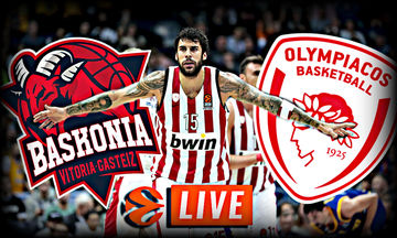 LIVE: Μπασκόνια - Ολυμπιακός
