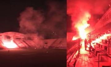 Ποιοι έκαναν... γιορτινό ντου το βράδυ στη Ριζούπολη και έβαλαν... φωτιά - Δείτε το βίντεο