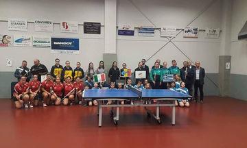 Στο Λουξεμβούργο ο Φοίνικας Πειραιά για τη 2η φάση του E.T.T.U. Cup