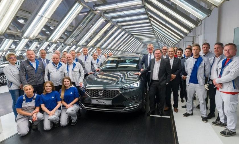 Το Seat Tarraco κατασκευάζεται στο εργοστάσιο της Volkswagen