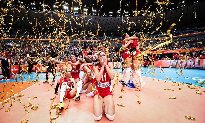 Παγκόσμιο Πρωτάθλημα Βόλει Γυναικών: Το χρυσό στη Σερβία για πρώτη φορά (vid, pics)