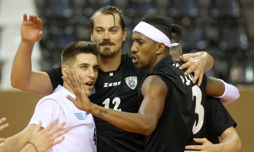 Πρωταθλήματα Volley: Λαχτάρησε ο ΠΑΟΚ στην Κομοτηνή, κέρδισε δύσκολα 3-2 τη νεοφώτιστη ΑΕΚ