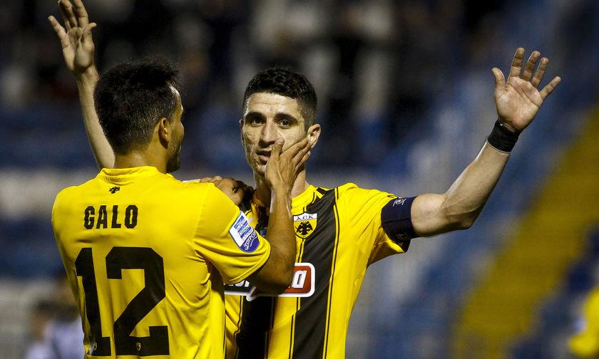 Aπόλλων-ΑΕΚ 0-2: Ξεμαντάλωσε τη νίκη
