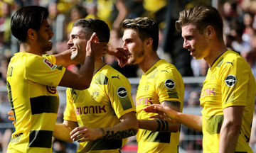 Bundesliga: «Τεσσάρα» η Ντόρτμουντ, διπλά για Μπάγερν και Βέρντερ (αποτελέσματα, βαθμολογία)
