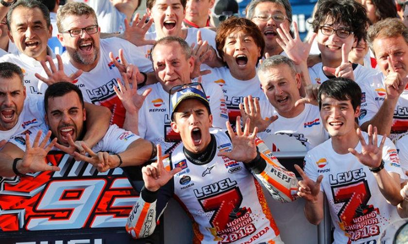 Moto GP: Παγκόσμιος Πρωταθλητής ο Μαρκ Μάρκεθ