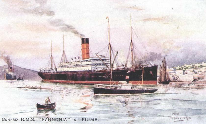 Ένα ατμόπλοιο που το έλεγαν «Παννονία»