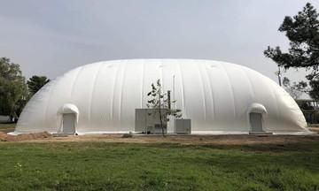 «Φύτρωσαν»... νέα γήπεδα στο ΣΕΦ (pics)