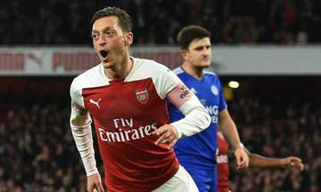 Premier League: «Τριάρα» στη Λέστερ η Άρσεναλ