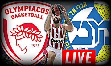LIVE: Ολυμπιακός - Μακάμπι