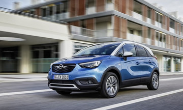 To Opel Crossland X με το νέο 1.5 diesel και αυτόματο κιβώτιο