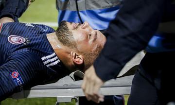 Ο τραυματισμός του Γκερέρο στον αγώνα με τη Ντουντελάνζ (vid)