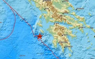 Ισχυρός σεισμός 6.6 στη Ζάκυνθο