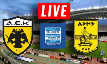 LIVE: AEK - Άρης (19:30)