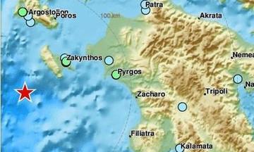 Ισχυρός σεισμός 5,4 Ρίχτερ στη Ζάκυνθο