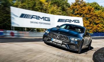Είναι η Mercedes-AMG GT το ταχύτερο τετράθυρο παραγωγής;