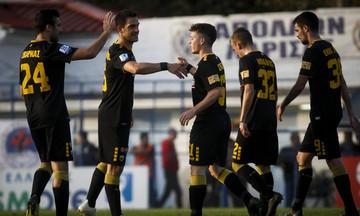 Τα γκολ του Απόλλων Λάρισας-ΑΕΚ 0-4 (vid)