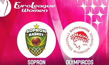 Live streaming: Σόπρον - Ολυμπιακός (19:00)