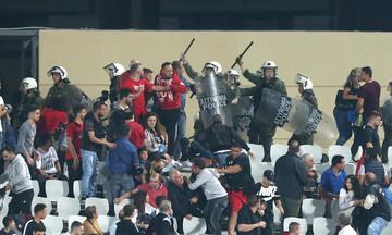 Η διακοπή του αγώνα ανάμεσα σε Παναχαϊκή και Ολυμπιακό (vid)