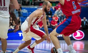 Ο Σπανούλης... τρόμαξε τον Ρώσο σπίκερ στο ΤΣΣΚΑ - Ολυμπιακός
