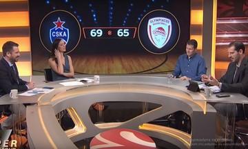 Η Super Euroleague για το ΤΣΣΚΑ - Ολυμπιακός (vid)