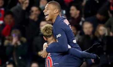Ligue 1: «Πέταξε» στο +11 η Παρί με Εμπαπέ, Νεϊμάρ (αποτελέσματα, βαθμολογία)