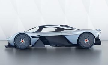 Νέες επίσημες φωτογραφίες της Aston Martin Valkyrie