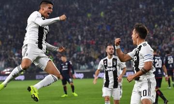 Serie A: Δύσκολη νίκη για την Γιουβέντους κόντρα στην Κάλιαρι με 3-1 (vid)