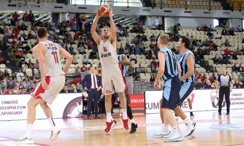 Τα highlights από το Ολυμπιακός - Κολοσσός στο ΣΕΦ (vid)