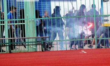 Σοβαρά επεισόδια σε αγώνα της Γ' Εθνικής (vid)