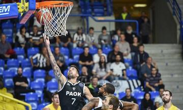 Ο ΠΑΟΚ νίκησε στην Τσεχία την Οπάβα με 94-69