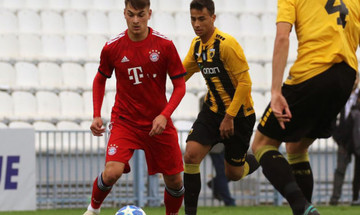 Η Μπάγερν 2-0 την ΑΕΚ για το Youth League
