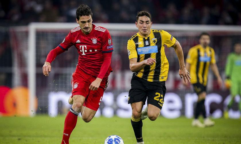 Τα γκολ του Μπάγερν Μονάχου-ΑΕΚ 2-0 (vid)