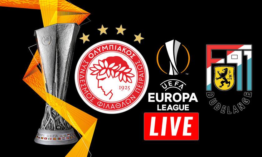 LIVE: Ολυμπιακός - Ντουντελάνζ (22:00)
