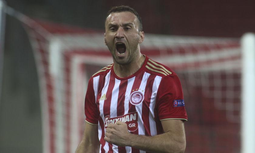 Πάλι γκολ ο Τοροσίδης! Ο Ολυμπιακός 1-0 την Ντουντελάνζ (vid)