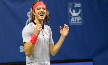 Ο Τσιτσιπάς με τρεις νίκες στα ημιτελικά του Next Gen ATP Finals