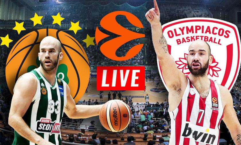 LIVE: Παναθηναϊκός - Ολυμπιακός (21:00)