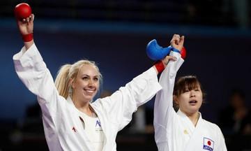 Η Ελένη Χατζηλιάδου παγκόσμια πρωταθλήτρια στο Καράτε