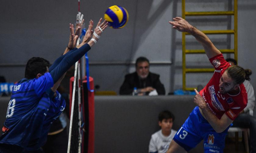 Volleyleague Ανδρών: Τα αποτελέσματα και η βαθμολογία της 5ης αγωνιστικής